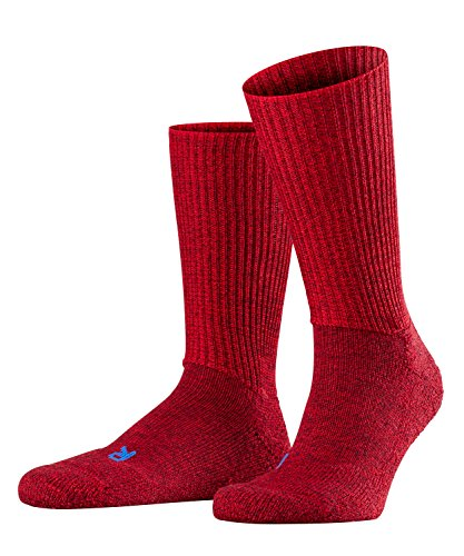 FALKE Unisex Socken Walkie Ergo U SO -16480, 1 Paar, Rot (Scarlet 8280), 44-45