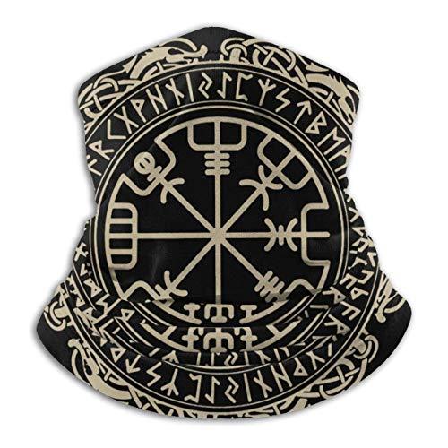 Viking Symbol Nordic Compass Men 'S,Foulards De Randonnée,Couverture Faciale,Polyvalent Cache-Col,Cache Nez,Echarpes Et Foulards,Écharpe De Visage