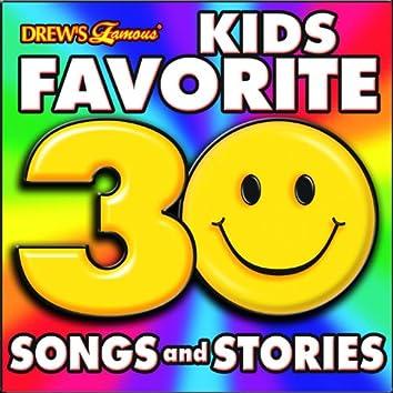 Kid's Favorite 30 Songs and Stories