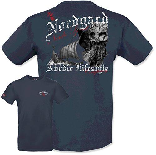 NORDGARD Sommerkollektion 2018 T-Shirt Spirit für SIE und IHN (XL, Marine)