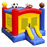 Inflatable HQ Cloud 9 Commercial Grade Sports Bounce House 100% PVC with Blower