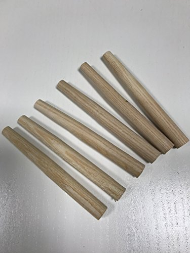 6 Stück Heuharkenzinken L x Ø: 11 x 1,2 cm Zinken für Heuharken (Zinke, Zinken,Heuharkenzinken, Heuharkenzinke für Heuharke) Rechen Garten Beet Heu