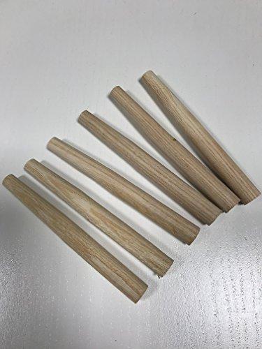 6 Stück Heuharkenzinken L x Ø: 11 x 1,2 cm Zinken für Heuharken ( Zinke, Zinken,Heuharkenzinken, Heuharkenzinke für Heuharke ) Rechen Garten Beet Heu