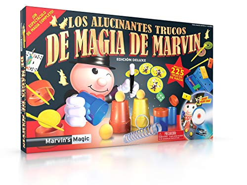 Marvin's Magic- Magic Set, Color Negro/Plata, Pack de 1 (MME 225/B)