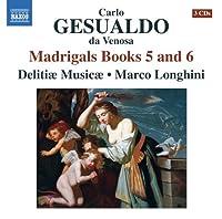Madrigals Books 5 & 6 by GESUALDO (2013-05-28)