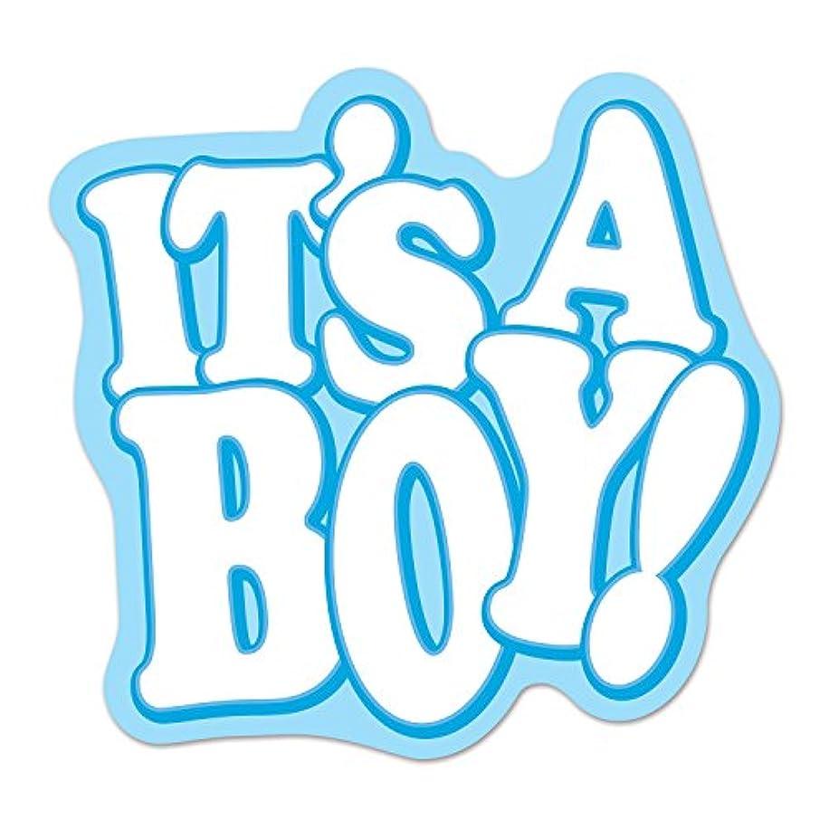 Beistle 54722 It's A Boy! Cutout, 19.5
