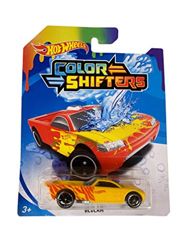 Hot Wheels Color Shifters Bedlam Yellow and Red Die-Cast Car 1:64 Scale