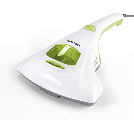 CLEANmaxx aspirateur à acariens avec lumière UV-C stérilisante | Aspirateur à Matelas avec Filtre HEPA, détruit 99,9% de Tous Les acariens | Nettoie et désinfecte en Une Seule étape