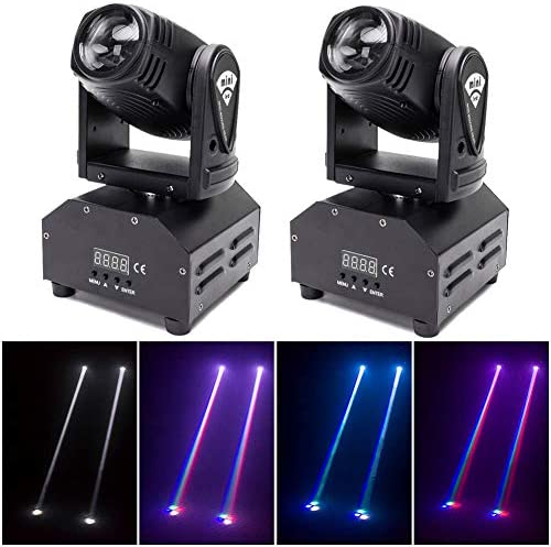 DJ Lights Moving Head U King Mini LED Moving Head Light RGBW Stage Lighting Beam Spot Lights product image