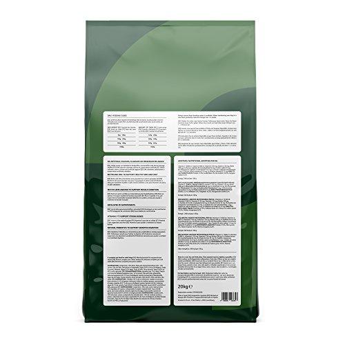 Marchio Amazon - Solimo - Alimento secco completo per cani adulti ricco di agnello e riso, 1 confezione da 20 kg