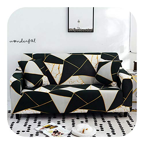 Fyttq 1pc Sofa Cover Elastic Sofa Slipcovers Sofa Covers for Living Room Corner Sofa Towel Couch Cover Furniture Slipcover-Color 25-4-seater 235-300cm