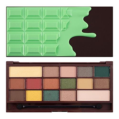 Makeup Revolution Oogschaduwpalet I Heart make-up mint chocolade