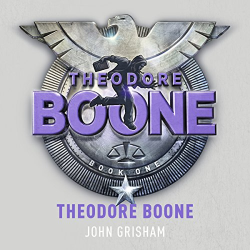 Theodore Boone audiobook cover art
