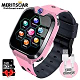 Kids Games Watchs Phone - 1.54 inch Touch Screen Game Smart Watch with MP3 Music Player Call SOS Calculator Alarm Clock Camera 7 Games Watchs for Boys Girls Birthday Gifts 3-12y