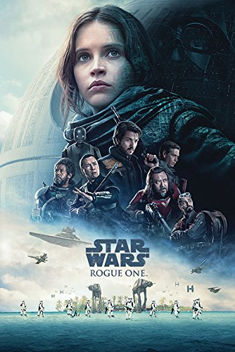 Star Wars: Rogue One - Movie Poster/Print (Regular Style/One Sheet Design) (Size: 24 inches x 36 inches)