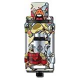 Skin Decal Vinyl Wrap for Smok TFV12 Cloud King Beast mini Tank Vape stickers skins cover / Aliens Cartoon Collage Sticker