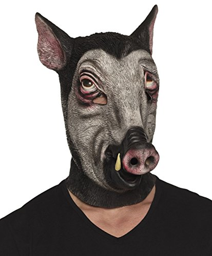 Boland 00158 Latexmaske, unisex-adult, Wildschwein, One Size
