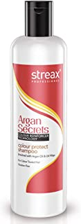 Streax Professional Argan Secrets Colour Protect Shampoo, 250 ml
