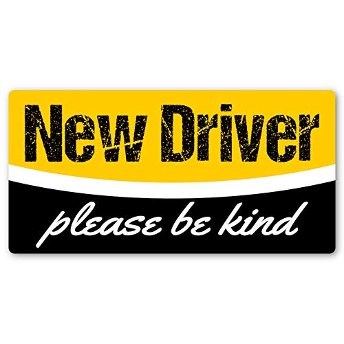 Student Driver Sticker | Easily Removable Just Like a Magnet but It Sticks Anywhere + Keep Your New Driver Safe with a Design That's Not Embarrassing