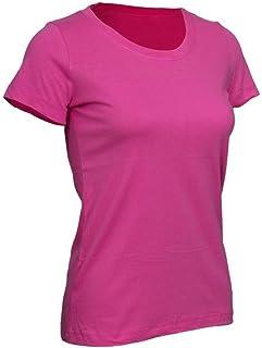 9e594916de80 DOMYOS Women SPORTEE Fitness Essential T-Shirt Girly Pink
