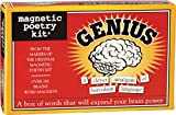 Magnetic Poetry - Genius Kit - Words for Refrigerator - Write Poems and Letters on The Fridge - Made in The USA