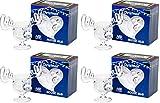 Christmas Eggnog Moose Mug Gift Boxed Set of 4 - Safer Than Glass