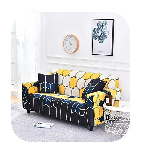 Sofa covers Plaid Stretch Elastic Sheath Sofa Cover Up Couch Seat Armrest Sofa Chaise Cover Lounge Furniture Protect Corner Cover for Dog-05-1-Seat 90-140Cm