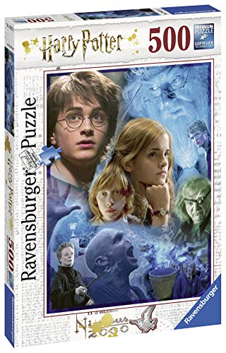 Ravensburger-14821 Harry Potter in Hogwarts, multicolor, 500 piezas (14821)