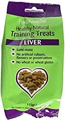 Semi-moist Liver Rice free - made with oats No artificial colours, flavours or preservatives Oven baked for more flavour & natural texture