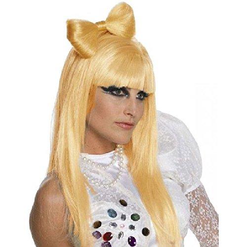 Mondial-Fete - Perruque de Star Blonde dorée