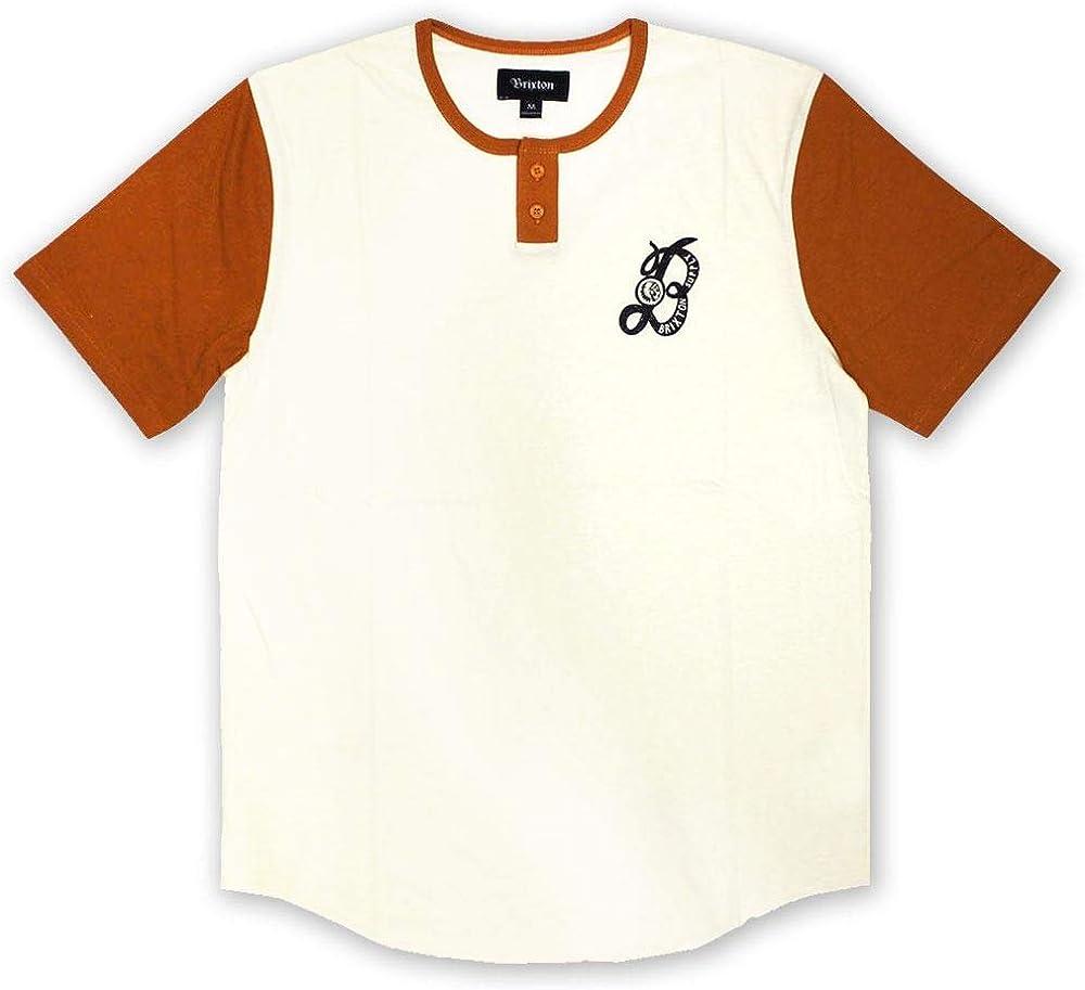 Brixton Major Henley T-Shirt White