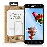 kalibri Folie kompatibel mit Samsung Galaxy J3 (2017) DUOS - 3D Glas Handy Schutzfolie - auch für gewölbtes Bildschirm