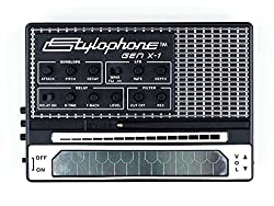 professional Portable analog synthesizer STYLOPHONE GEN X-1: Built-in speaker, keyboard, tape, …