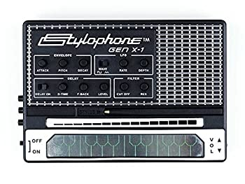 STYLOPHONE GEN X-1 Portable Analog Synthesizer  with Built-in Speaker Keyboard and Soundstrip LFO Low pass filter Envelope Sub-octaves & Delay