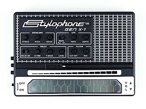 STYLOPHONE GEN X-1 Portable Analog Synthesizer: with Built-in Speaker