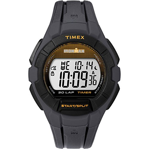 Timex Men's Ironman TW5K95600 Grey Plastic Quartz Sport Watch