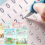 Magical Handwriting Workbooks Practice Copybook, Magic Calligraphy That Can Be Reused Handwriting Copybook Tracing Book
