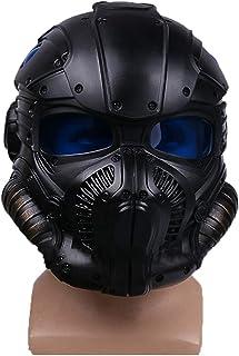 nihiug Gears of War máquina de Guerra protección de ónix Casco Cosplay máscara máscara de Halloween,Black-OneSize