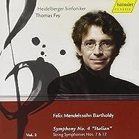 Mendelssohn: Symphony No. 4 / String Symphonies Nos. 7 & 12 (2008-03-11)