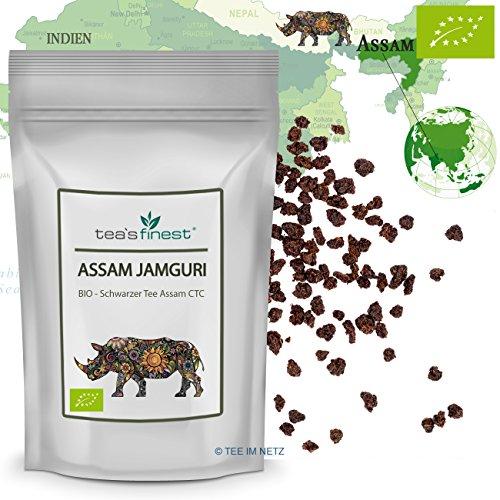 Schwarzer Tee - Assam Jamguri CTC - BIO (500 Gramm)
