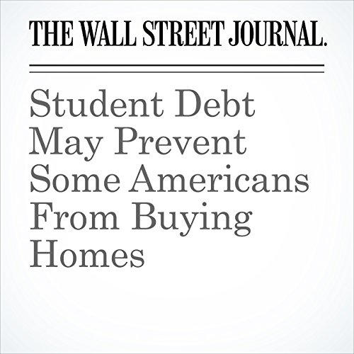 Student Debt May Prevent Some Americans From Buying Homes copertina