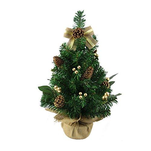 Sapin de Noël Arbre de Noël - Mini Arbre de Noël Décoration de Noël Décoration Centre commercial Boutique Fête de famille Décoration de Noël (Couleur : B, taille : 50cm)