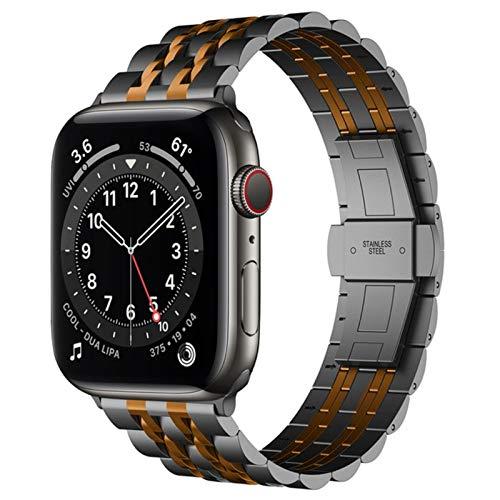 Pulseira para Apple Watch 6 banda SE Series 5 4 44mm 40mm correa para iwatch bandas 3 38mm 42mm acero inoxidable pulsera smartbands