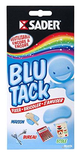 Sader Blu Tack Pâte adhésive - Etui 57G