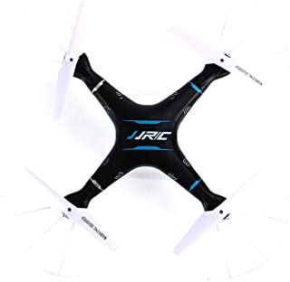 3D Roll Headless RC Quadcopter CEStore JJRC H5P 6 Axis 4Ch Gyro Drone Helicopter RTF 2.4GHz Remote Control with Removable 2.0MP HD Video Camera Headless with LED Flying Saucer UFO Auto Return-Black