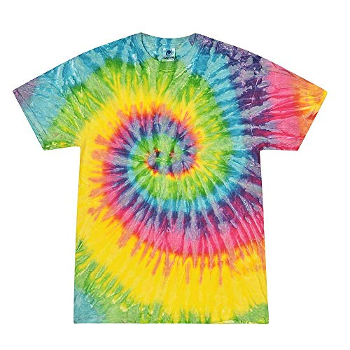 Colortone Tie Dye T-Shirts Kids 6-8 (SM) Saturn