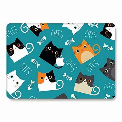 AQYLQ Schutzhülle für MacBook Pro 15, Kunststoff, Hartschale, für Apple MacBook Pro mit Retina-Display (Modell: A1398) – L278 Cat