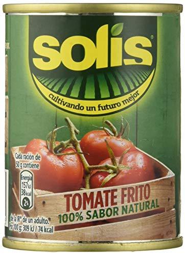 Solis - Tomate Frito - 140 g - [Pack de 8]