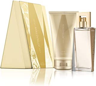 Avon attraction for her gift set perfume & body lotion