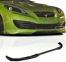 PULIps HYGE10STFAD - Sportsline Style Front Bumper Lip For Hyundai Genesis Coupe 2010-2012